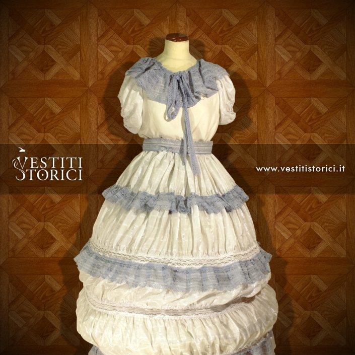 Vestito Ottocentesco Nobildonna