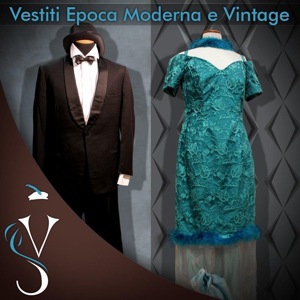 Vestiti epoca moderna e vintage