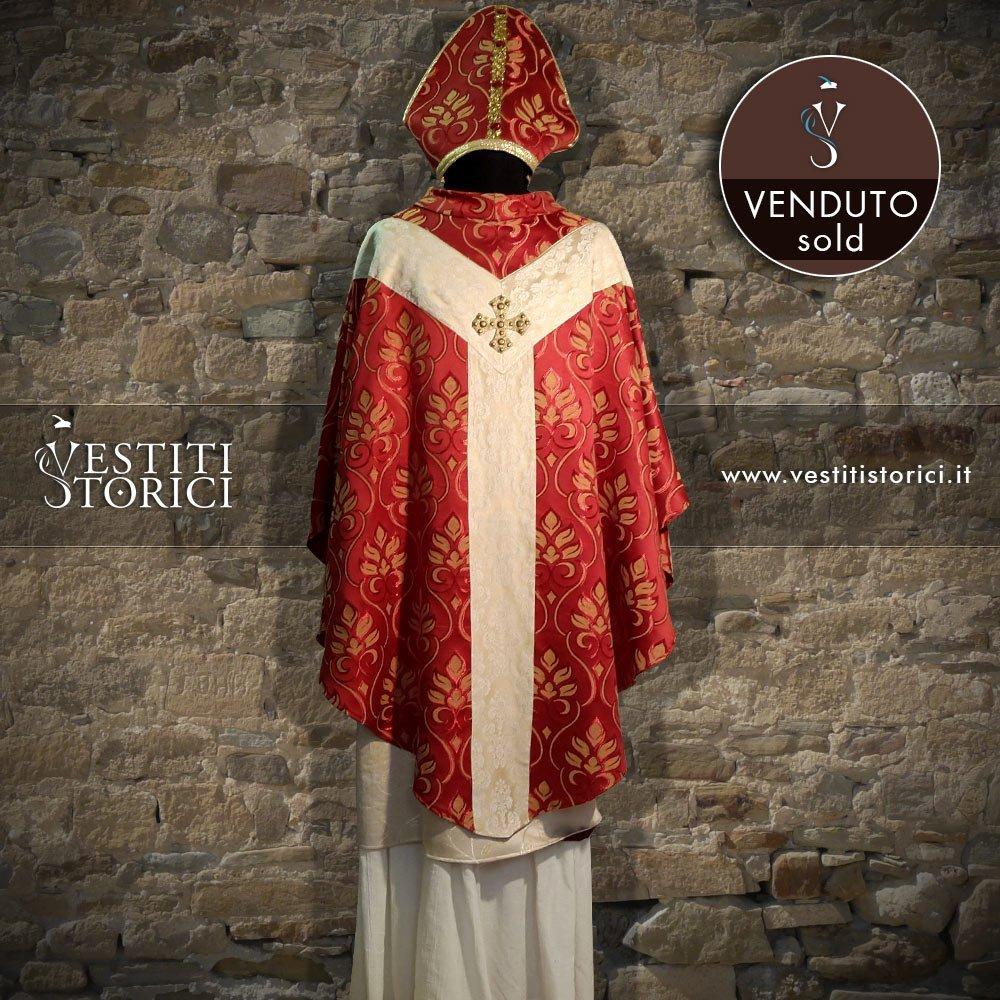 Vestito Medievale Vescovo M-M141