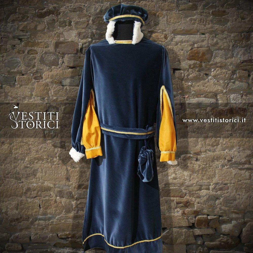 Vestito Tardo Medioevo Nobiluomo