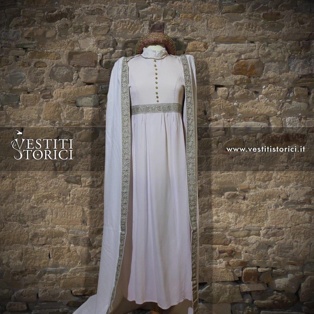 Vestito medievale nobildonna m f152 vestiti storici - Alla tavola della principessa costanza 2017 ...