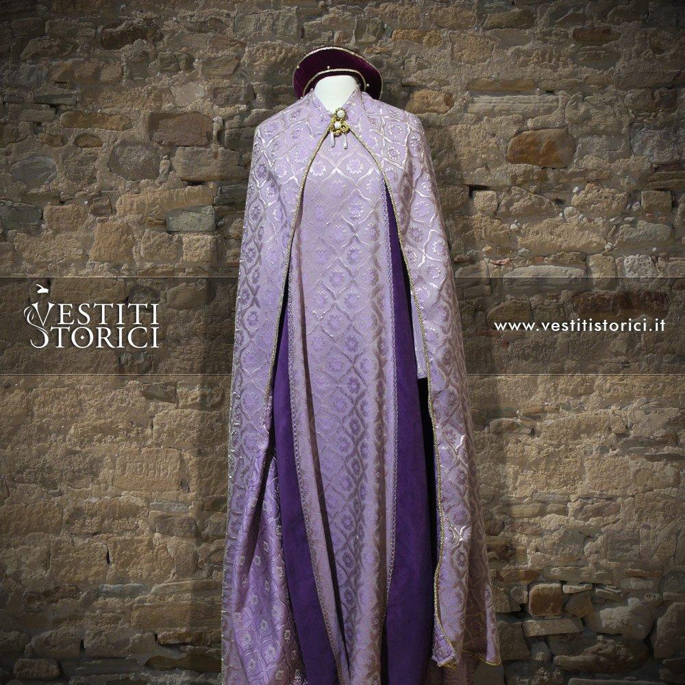 Vestito medievale nobildonna m f155 vestiti storici - Alla tavola della principessa costanza 2017 ...