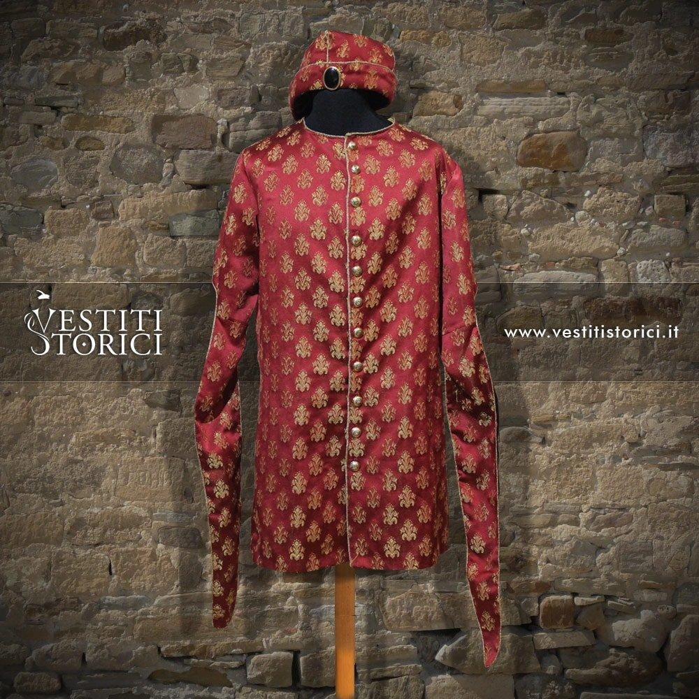 Vestito medievale nobiluomo m m163 vestiti storici - Alla tavola della principessa costanza 2017 ...