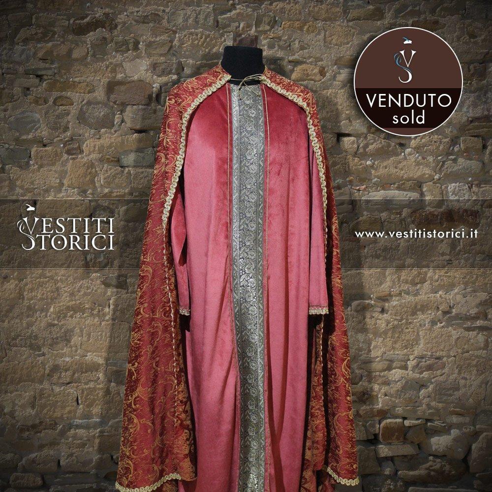 Vestiti storici vestito medievale nobiluomo m m162 - Alla tavola della principessa costanza 2017 ...